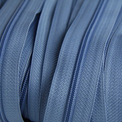 Genuine YKK  Continuous Nylon/Polyester #4.5 Zip colour 837 Astro Blue