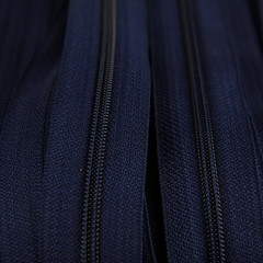 Genuine YKK  Continuous Nylon/Polyester #4.5 Zip colour 919 Navy Blue