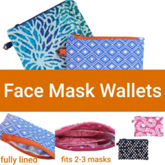 FACE MASK WALLET