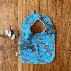 bib - platypus / organic cotton hemp fleecy / baby toddler