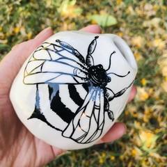 Bee 🐝 pod vase
