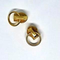 Genuine YKK  #4.5 Zip Metal Slider Gold