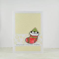 Merry Christmas, Christmas Card, Christmas Stocking