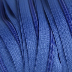 Genuine YKK  Continuous Nylon/Polyester #4.5 Zip colour 918 Royal Blue