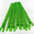 Genuine YKK Nylon/Polyester #3 Finished Zip colour 536 Spring Green