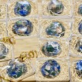 Blue Gemstone Soap