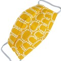 REVERSIBLE Face Mask - 100% cotton fabric - ABOUT TOWN SUNSHINE