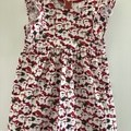 Little Santas cotton dress, size 4