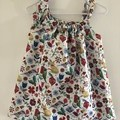 Christmas animals and flowers dress size 3