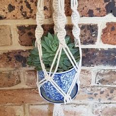 Handmade Macrame Pot Plant Hangers