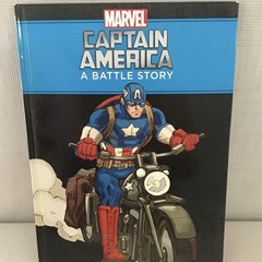2021  Marvel  Upcycled Diary  -  Captain America