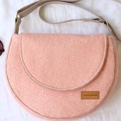 Fabric shoulder bag, crossbody bag