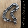 Stainless Steel Inca Puño Chain Bracelets (4x available)