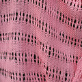 Pink Lemonade Woven Shawl