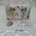 Coin Purse - Women's/Girls for Coins, Cards,Jewellery etc - Ballerina