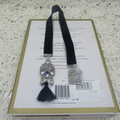 Bookmark Velvet Bling Navy