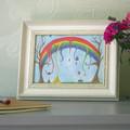 The Melting Rainbow   Print  A4 & A5