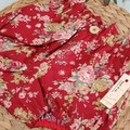 Baby Girls Red Floral Christmas Britches Bloomers Size 0