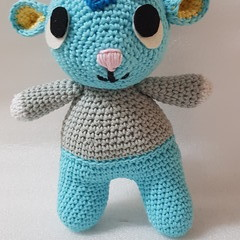 Crocheted Animal Crossing Character