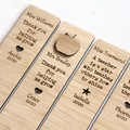Teacher Bookmark Custom Personalised, Many Designs, Teacher Thank You Gift