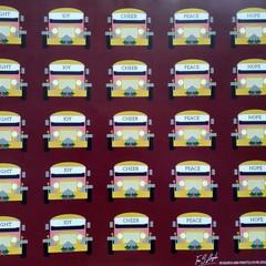 Custom Gift Wrap, Jeepney Christmas,  Maroon