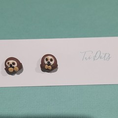 Sloth studs - small