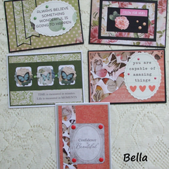 More Sets of 5 Handmade Notecards