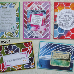 Even More Sets of 5 Handmade Notecards