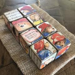 Baby Decor Blocks -Paddington
