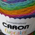 Caron Cup Cakes 85g ~ Beanie Pom Pom & Pattern ~ Candi Buttons