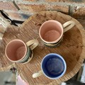 Ceramic nature landscape Mugs with a handle