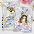 Secret Garden Birthday Cards