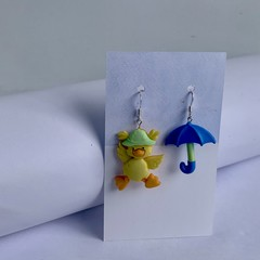 Rain Hats and Rain Puddles
