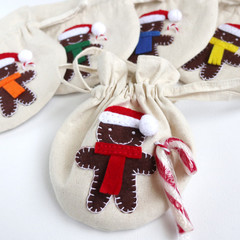 Christmas Gift Bag • Christmas Tree Ornament • Gingerbread Man