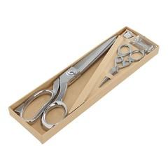 Birch Premium Scissor Set -  Silver Color ~ Beautifully boxed ready to wrap