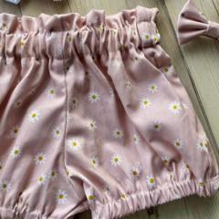 Daisy Pink  Shorties GirlsToddler  Babies