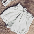 WHITE LINEN BLOOMERS, size 00 - 2 available