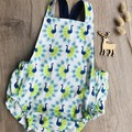 PRETTY PEACOCKS ROMPER, Size 00 and 0 available