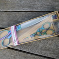 Birch Premium Scissor Set -  Rainbow Color ~ Beautifully boxed ready to wrap