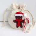 Christmas Gift Bag • Christmas Tree Ornament • Gingerbread Man