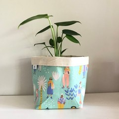 Large fabric planter | Storage basket | Pot cover | MILLENNIALS