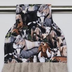 Goats Designer Hand Towel