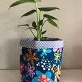 Large fabric planter | Storage basket | Pot cover | FLOWER POWER
