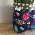 Small fabric planter | Storage basket | Pot cover | BUGS
