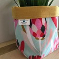 Small fabric planter | Storage basket | Pot cover | MINT PROTEA