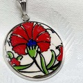 Turkish Flower Pendant