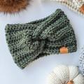 ADULT TWISTED EARWARMER - 100% Australian Yarn - Various Colours