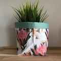 Small fabric planter | Storage basket | Pot cover | COCKATOO