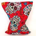 KIKIME Wheat Bags - Design: Mexican Skulls