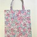 Cherry blossom library/shopping bag